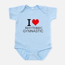 I Love Rhythmic Gymnastics Body Suit