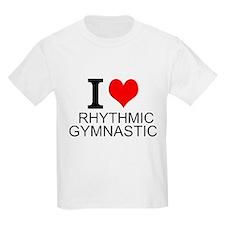 I Love Rhythmic Gymnastics T-Shirt