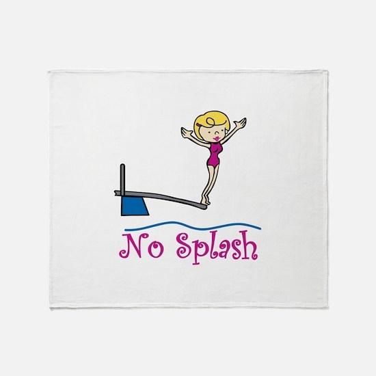 No Splash Throw Blanket