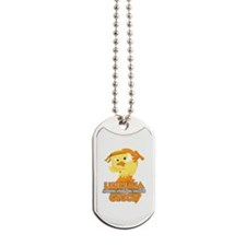 Leukemia Messed With The Wrong Chick Dog Tags