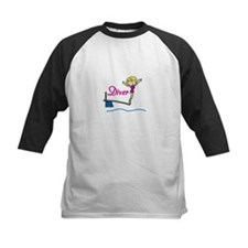 Diver Woman Baseball Jersey