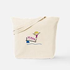 iDive Woman Tote Bag