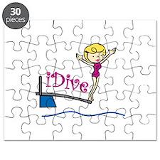 iDive Woman Puzzle