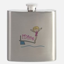 iDive Woman Flask