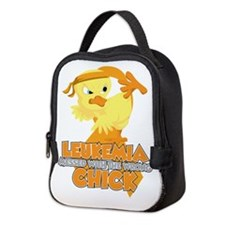 Leukemia Messed With The Wrong Neoprene Lunch Bag