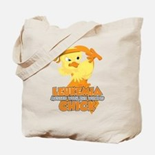 Leukemia Messed With The Wrong Chick Tote Bag