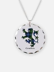 Lion - Gordon Necklace Circle Charm
