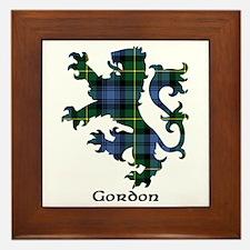 Lion - Gordon Framed Tile
