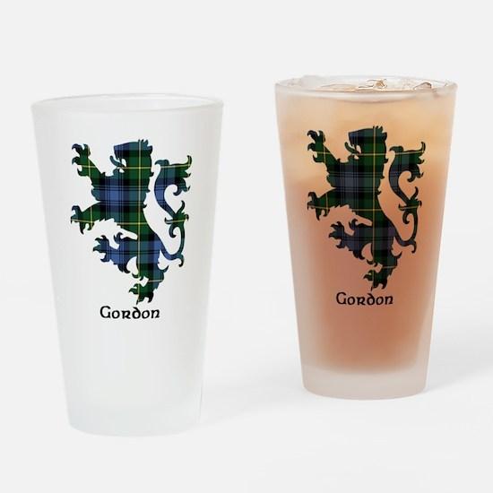 Lion - Gordon Drinking Glass