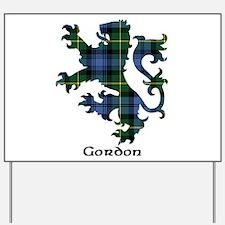 Lion - Gordon Yard Sign