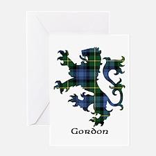 Lion - Gordon Greeting Card