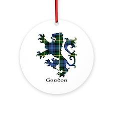 Lion - Gordon Ornament (Round)