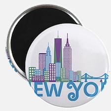 Skyline New York Magnets