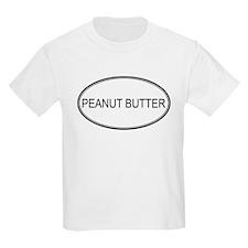 PEANUT BUTTER (oval) T-Shirt