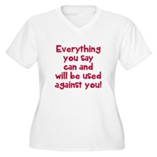 Everything used a T-Shirt