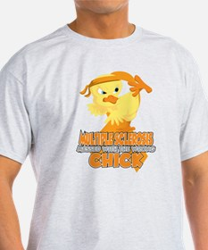 Multiple Sclerosis Messed With The W T-Shirt