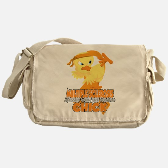 Multiple Sclerosis Messed With The W Messenger Bag