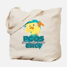 PCOS Messed With The Wrong Chick Tote Bag