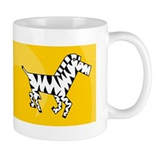 Funny Zebra technology Mug