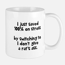 I just saved 100% on stress Mugs