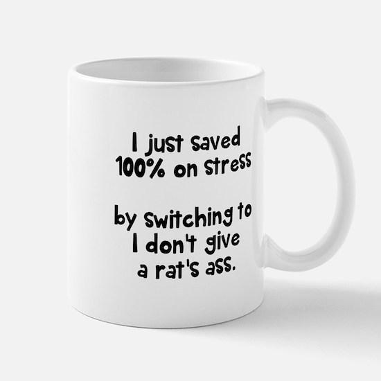 I just saved 100% on stress Mugs