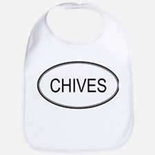 CHIVES (oval) Bib