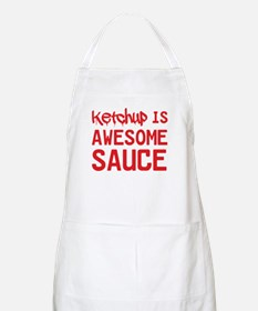Ketchup is awesome sauce Apron