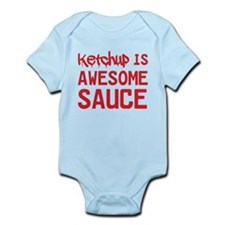 Ketchup is awesome sauce Body Suit