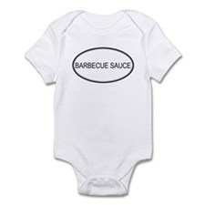 BARBECUE SAUCE (oval) Infant Bodysuit