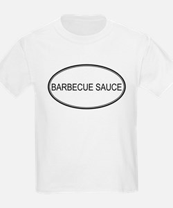 BARBECUE SAUCE (oval) T-Shirt