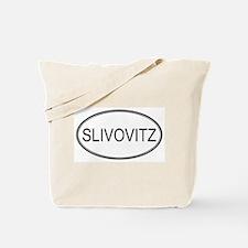 SLIVOVITZ (oval) Tote Bag