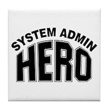 System Admin Hero Tile Coaster