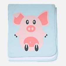 Unique Swine baby blanket
