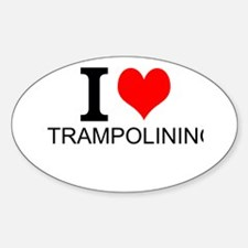 I Love Trampolining Decal