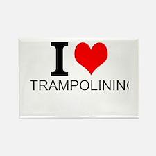 I Love Trampolining Magnets