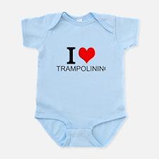 I Love Trampolining Body Suit