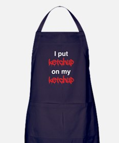 I put ketchup on my ketchup Apron (dark)