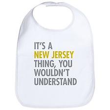Its A New Jersey Thing Bib