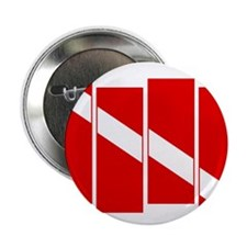 "Diver down 2.25"" Button (100 pack)"