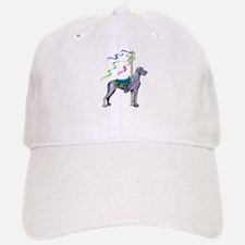 Great Dane Blue UC Carousel Baseball Baseball Cap