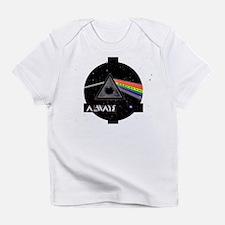 Cute Dark side moon Infant T-Shirt