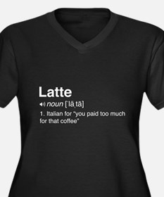 Latte definition Plus Size T-Shirt