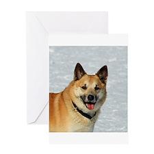 IcelandicSheepdog019 Greeting Cards
