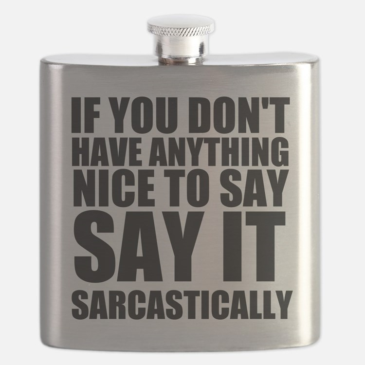 Say It Sarcastically Flask