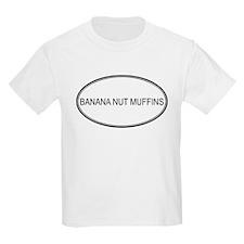 BANANA NUT MUFFINS (oval) T-Shirt