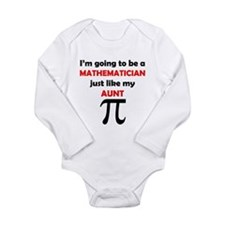 Mathematician Like My Aunt Body Suit