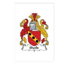 Sheild Postcards (Package of 8)