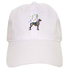 Great Dane Black UC Carousel Baseball Cap