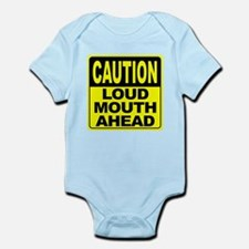Loud Mouth Ahead Infant Bodysuit