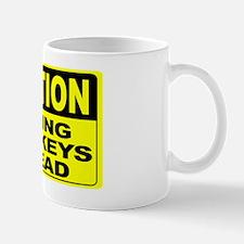 Flying Monkeys Ahead Wide Mug